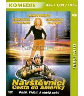 Návštěvníci: Cesta do Ameriky (Just Visiting) DVD