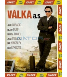 Válka a.s. DVD (War, Inc.) DVD