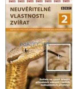Neuvěřitelné vlastnosti zvířat 2 (Supernatural: The Unseen Powers Of Animals) DVD