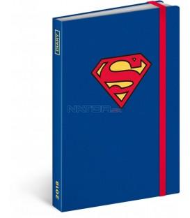 Týdenní diář Superman 2018, 10,5 x 15,8 cm