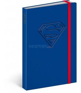 Notes Superman – Logo, linkovaný, 10,5 x 15,8 cm