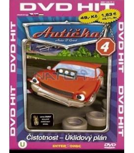 Autíčka 4 (Auto B-Good) DVD