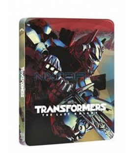 TRANSFORMERS: POSLEDNÍ RYTÍŘ (Transformers: The Last Knight) (3Blu-ray 3D+2D+bonus disk) - steelbook