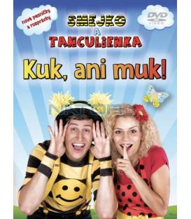 Smejko a Tanculienka - Kuk ani muk! DVD