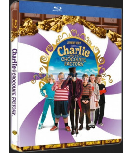 Karlík a továrna na čokoládu (Charlie and the Chocolate Factory) Blu-ray steelbook