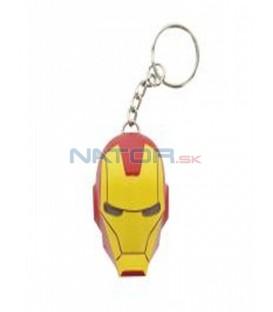 Klíčenka Iron Man svítící