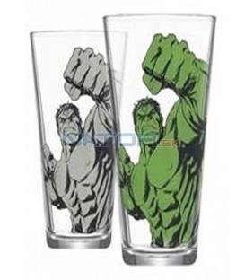 Sklenice Hulk měnící se 400 ml