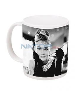 Hrnek Audrey Hepburn B&W 315 ml