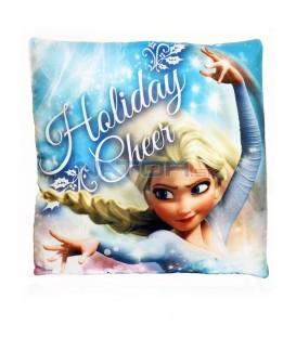Ľadové kráľovstvo - Frozen - Obojstranný dekoračný vankúš 40 x 40cm