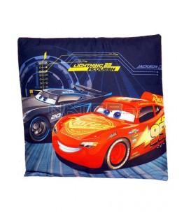 Autá - Cars - McQueen Obojstranný dekoračný vankúš 40 x 40cm