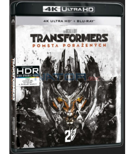 Transformers: Pomsta poražených (Transformers: Revenge of the Fallen ) UHD+BD - 2 x Blu-ray