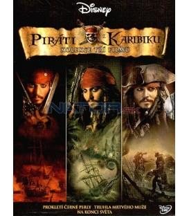 Piráti z Karibiku kolekce 3DVD (Pirates of the Caribbean Collection)