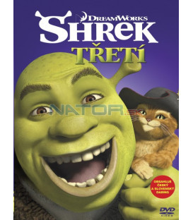 Shrek Třetí (Shrek the Third) Big Face DVD
