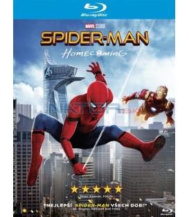 SPIDER-MAN: HOMECOMING Blu-ray + komiks