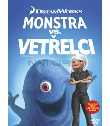 Monstra vs. Vetřelci  (Monsters vs. Aliens) Big Face DVD