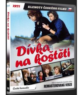 Dívka na koštěti Remasterovaná verze DVD