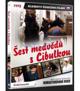 ŠEST MEDVĚDŮ S CIBULKOU  Remasterovaná verze DVD