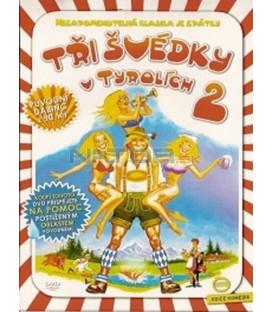 Tři Švédky v Tyrolích 2 (Hurra - die Schwedinnen sind da) DVD