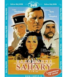 Tajemství Sahary - 3. a 4. část (The Secret of the Sahara) DVD