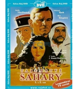 Tajemství Sahary - 1. a 2. část (The Secret of the Sahara) DVD
