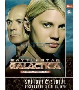 Battlestar Galactica - disk 14 - 2. sezóna, epizody 13 a 14 (Battlestar Galactica)