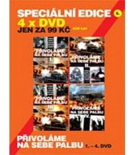 SPECIÁLNÍ EDICE 05 - 4 X DVD KOMPLETNÍ VÁLEČNÁ SÉRIE