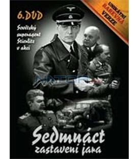 SEDMnáct zastavení jara – 6. DVD – SLIM BOX - UNIKÁTNÍ BAREVNÁ VERZE