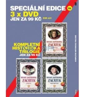 SPECIÁLNÍ EDICE 10- KOMPLETNÍ HISTORICKÁ TRILOGIE