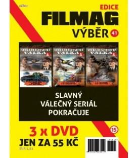 Filmag výběr 41 - 3 DVD:Velká vlastenecká válka - 4. až 6. DVD (The Unknown War)