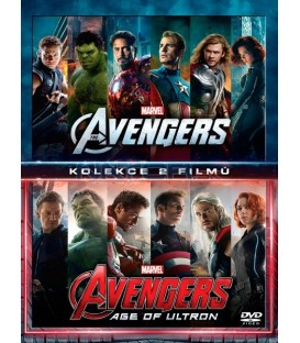 Avengers kolekce 1.-2. (The Avengers + Avengers: Age of Ultron) 2DVD