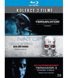 Kolekce: Trilogie Terminátor 1. - 3. 3xBlu-ray