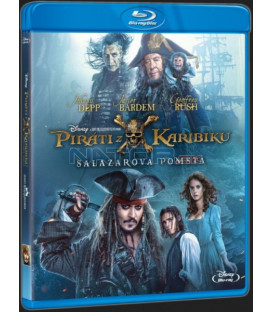 PIRÁTI Z KARIBIKU 5: SALAZAROVA POMSTA (Pirates of the Caribbean: Dead Men Tell No Tales) Blu-ray
