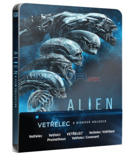 VETŘELEC KOLEKCE - Blu-ray STEELBOOK (6 BD)