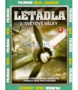 Letadla 2. světové války - 2. DVD