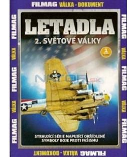 Letadla 2. světové války - 1. DVD
