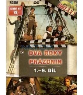 3 v 1 (Dva roky prázdnin / 2 roky prázdnin, 1. - 6. díl) (Deux ans de vacances) DVD