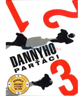 Dannyho parťáci I, II, III 3 DVD-Kolekce (Oceans Eleven+Oceans Twelve+Oceans Thirteen)