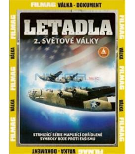 Letadla 2. světové války - 4. DVD