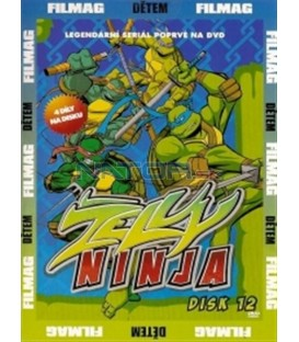 Želvy Ninja - disk 12 (Teenage Mutant Ninja Turtles) DVD