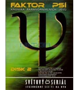 Faktor Psí - DVD 2 (Psi Factor: Chronicles of the Paranormal) DVD