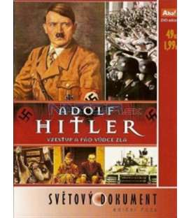 Adolf Hitler - Vzestup a pád vůdce zla / Hitlerova kariéra (Hitler - eine Karriere) DVD