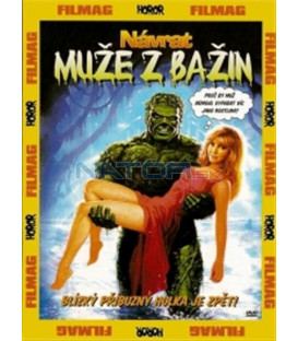 Návrat muže z bažin  DVD (The Return of Swamp Thing)