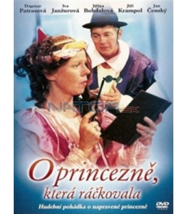 O princezně, která ráčkovala DVD