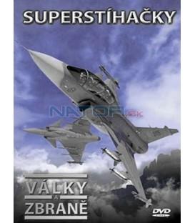 Války a zbraně - Superstíhačky dvd + kniha DVD