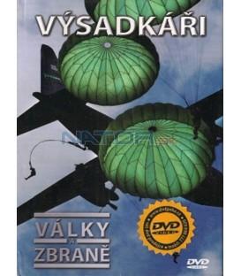 Války a zbraně - Výsadkáři dvd + kniha DVD