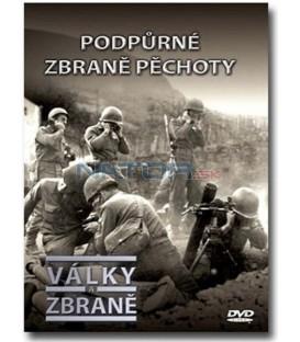 Války a zbraně - Podpůrné zbraně pěchoty dvd + kniha DVD