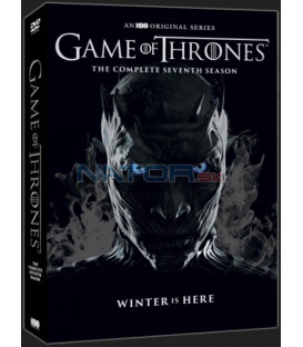 Hra o trůny 7. série 4 X DVD (Game of Thrones Season 7) Limitovaná edice DVD