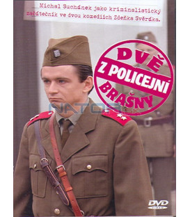 Dvě z policejní brašny DVD