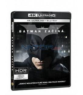 Batman začíná (Batman Begins) UHD+BD - 3 x Blu-ray +bonus disk