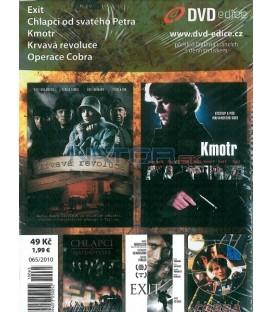 Kolekce Akční Thriller 5DVD